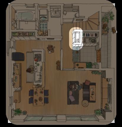 モデルハウス 1F 一階 | 収納